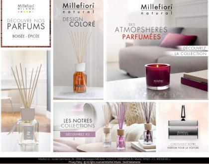 Diffuseurs de parfum MILLEFIORI MILANO