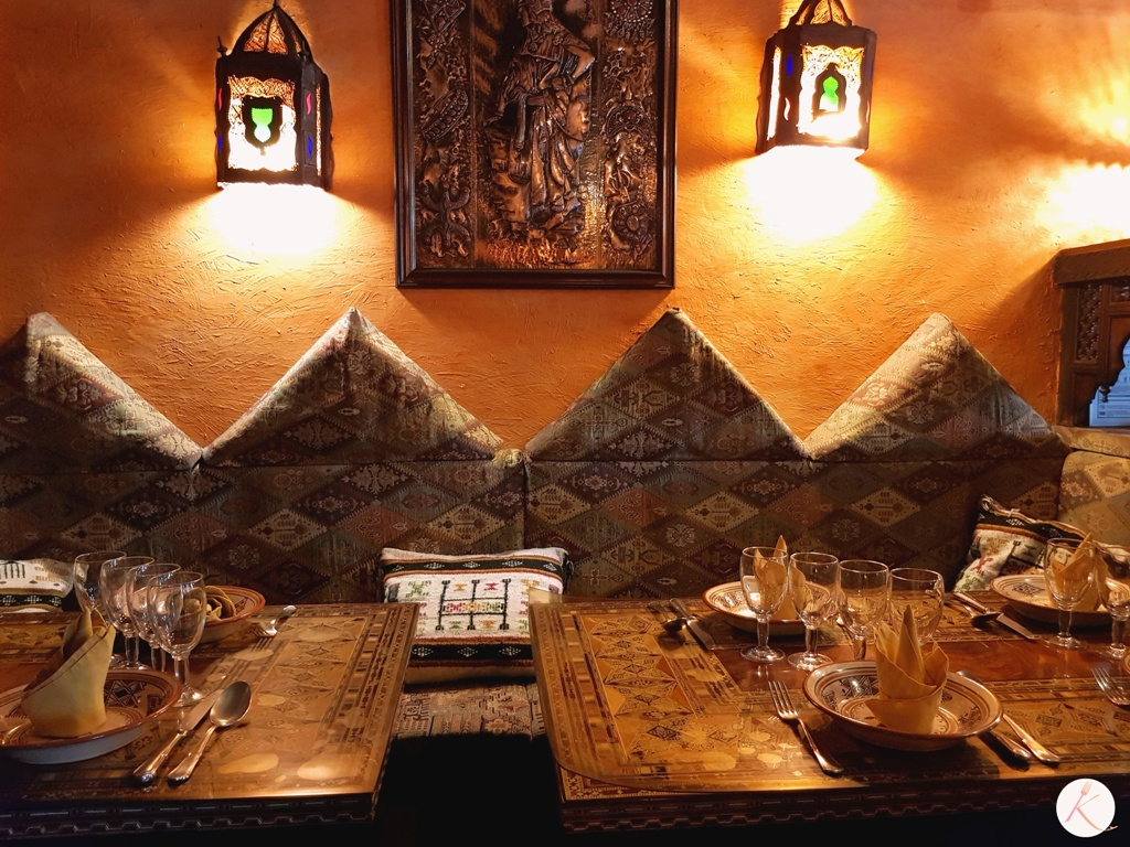 Restaurant marocain berbère : L'Atlantide