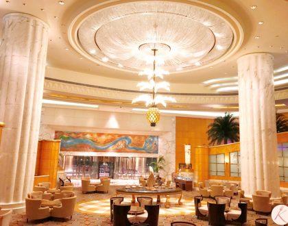 L'impressionnant hôtel Grand Hyatt Dubaï