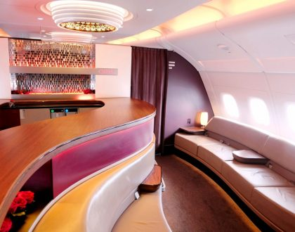 Voyage en Business Class de la Qatar Airways
