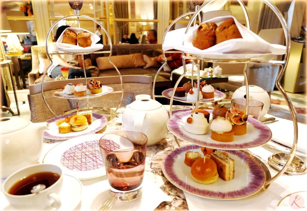 Le tea time de l'hôtel de Crillon
