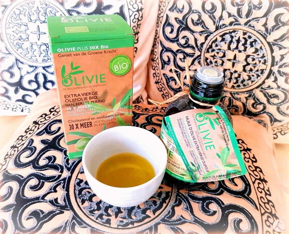 La prodigieuse huile d'olive : olivie