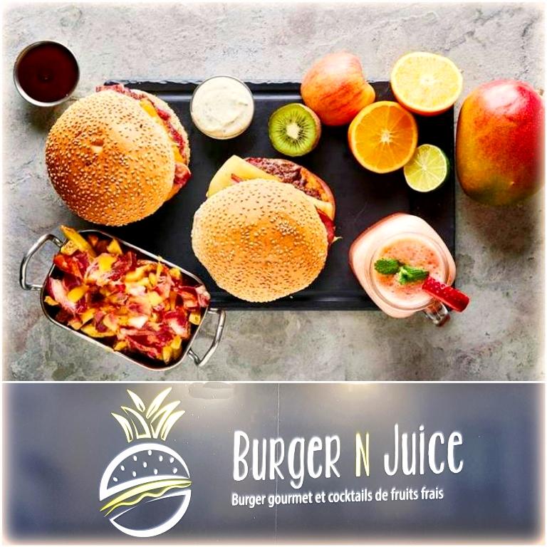 Découverte des Burgers gourmets de Burger N Juice