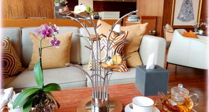 Noor Lounge Mandarin Oriental Jumeira afternoon tea