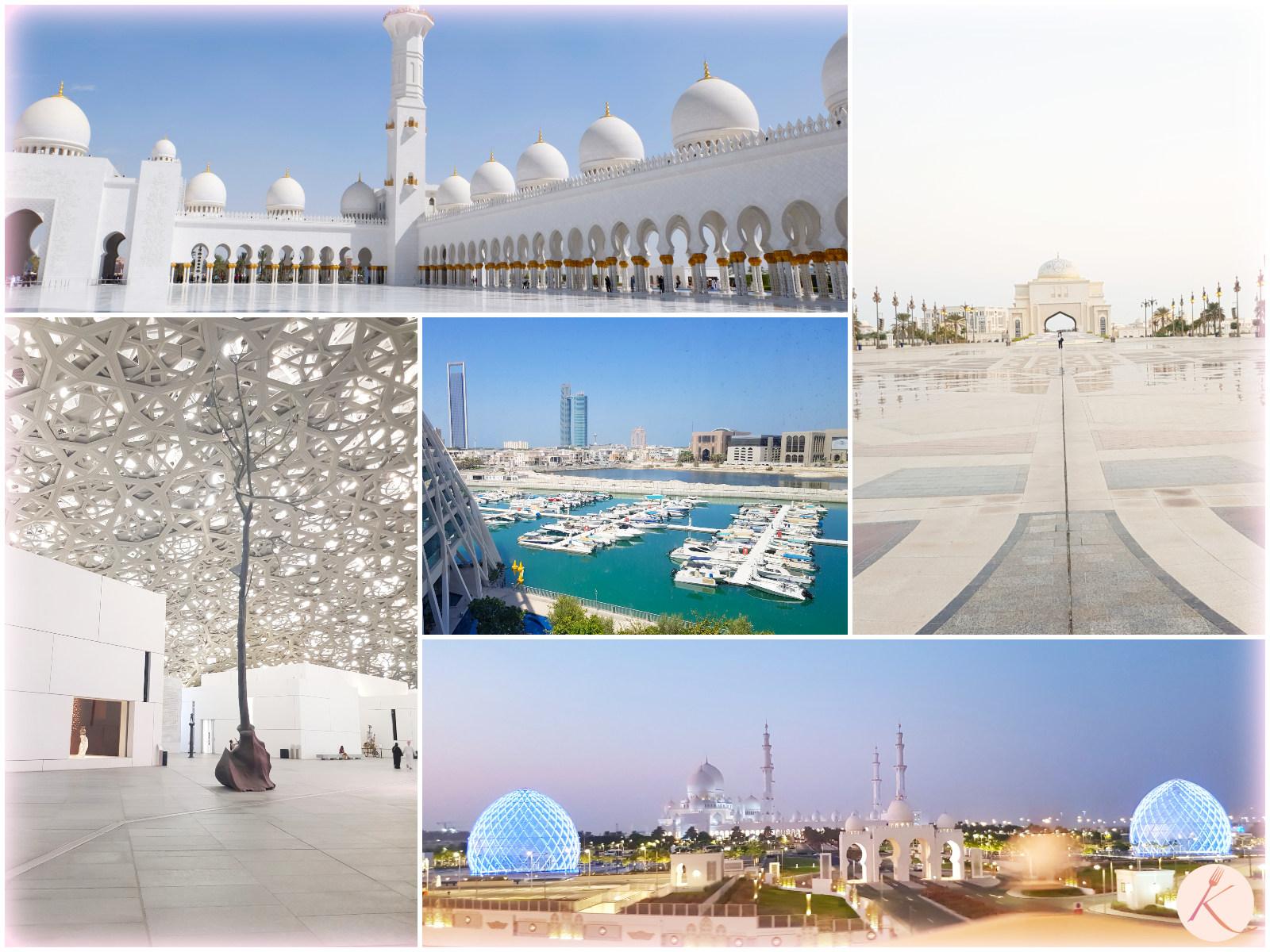 Visite et activité à Abu Dhabi